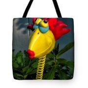 Donna's Bird Says Kiss Me Tote Bag