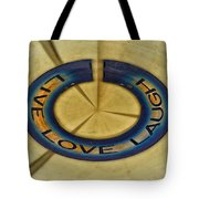 Donna's Message To You Tote Bag