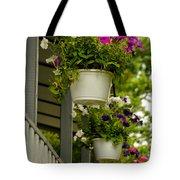 Donna's Petunias Tote Bag