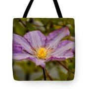 Donna's Purple Flower Tote Bag