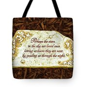 Donna's Special Message Tote Bag