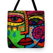 Don't Be Sad  Dear - Face - Expression Tote Bag