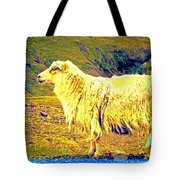 Dont Be Sheep, You Said, But I Just Can't Help It Tote Bag