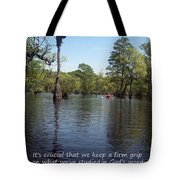 Don't Drift Off Couse Tote Bag