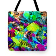 Dont Fall On The Road 3d Abstract I Tote Bag
