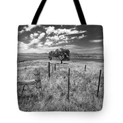 Don't Fence Me In - Black And White Tote Bag