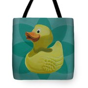 Don't Give A Rubber Duck Tote Bag