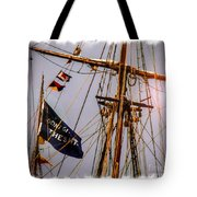 Don't Give Up The Ship Tote Bag