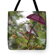 Don't Let It Rain On My Tree Tote Bag