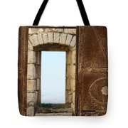 Door And Window Of The Old World Tote Bag