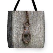 Door Chain In Color Tote Bag