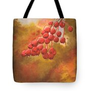 Door County Cherries Tote Bag by Rick Huotari
