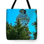 Door County Wi Lighthouse Tote Bag