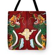 Door Dragons 03 Tote Bag