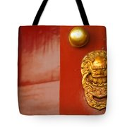 Door Handle Tote Bag