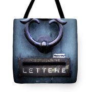 Door Knob Tote Bag