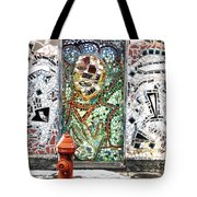 Door Mosaic Tote Bag