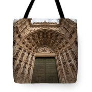 Door Of Assumption Of The Seville Cathedral Tote Bag