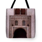 Door Of The Court Of The Myrtles 3 Tote Bag