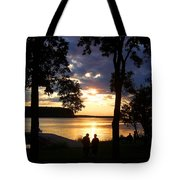 Door Peninsula Sunset Tote Bag