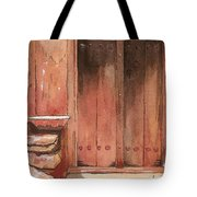 Door Series - Door 11 - Village Of Albanayeh Near Natanz Tote Bag