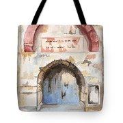 Door Series - Door 4 - Prison Of Apostle Peter Jerusalem Israel Tote Bag