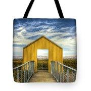Door To The Marshlands Tote Bag
