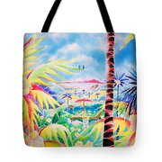 Door To The Paradise Tote Bag