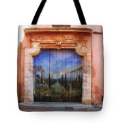 Door With A View Tote Bag