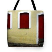 Doors And Windows Salvador Brazil 1 Tote Bag