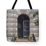 Doors Of Albany 3 Tote Bag
