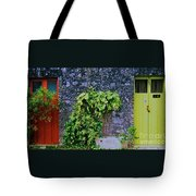 Doors In Cozumel Tote Bag
