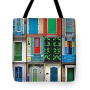 Doors New Orleans Tote Bag by Christine Till