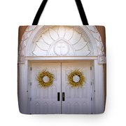 Doors Of San Francisco De Asis Tote Bag