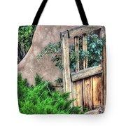 Door, Santuario De Chimayo Tote Bag