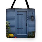 Doorway In Maine Tote Bag