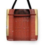 Doorway Of Nicaragua 004 Tote Bag