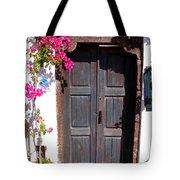 Doorway Oia Santorini Greek Islands Tote Bag