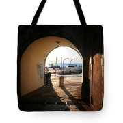 Doorway To The Sea Tote Bag