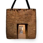Doorways In Pueblo Bonito Tote Bag
