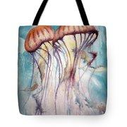 Dos Jellyfish Tote Bag