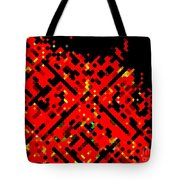 Dot Invasion Tote Bag