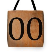 Double 0 Tote Bag