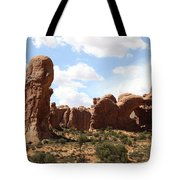 Double Arch In The Windows District Tote Bag