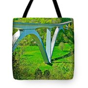 Double-arched Bridge Spanning Birdsong Hollow At Mile 438 Of Natchez Trace Parkway-tennessee Tote Bag