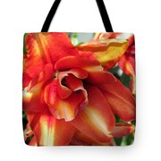 Double Asiatic Lily Named Cocktail Twins Tote Bag