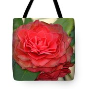 Double Blossom Camelias Tote Bag