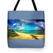 Double Bow Tote Bag