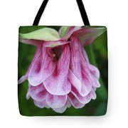 Double Columbine Named Pink Tower Tote Bag