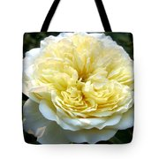 Double Cream Rose Tote Bag